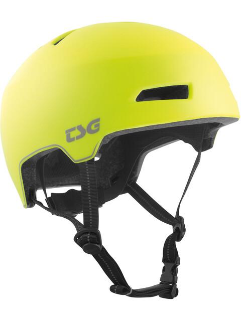 TSG Status Special Makeup Helmet acid yelloflective